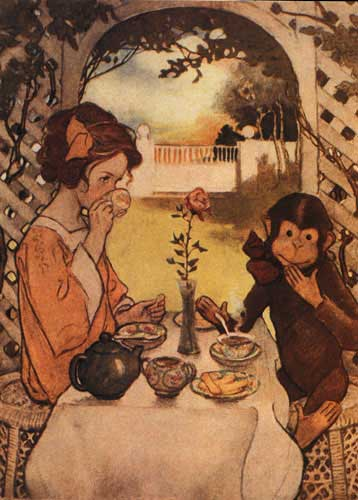 Beauty and the beast by Jessie Willcox Smith