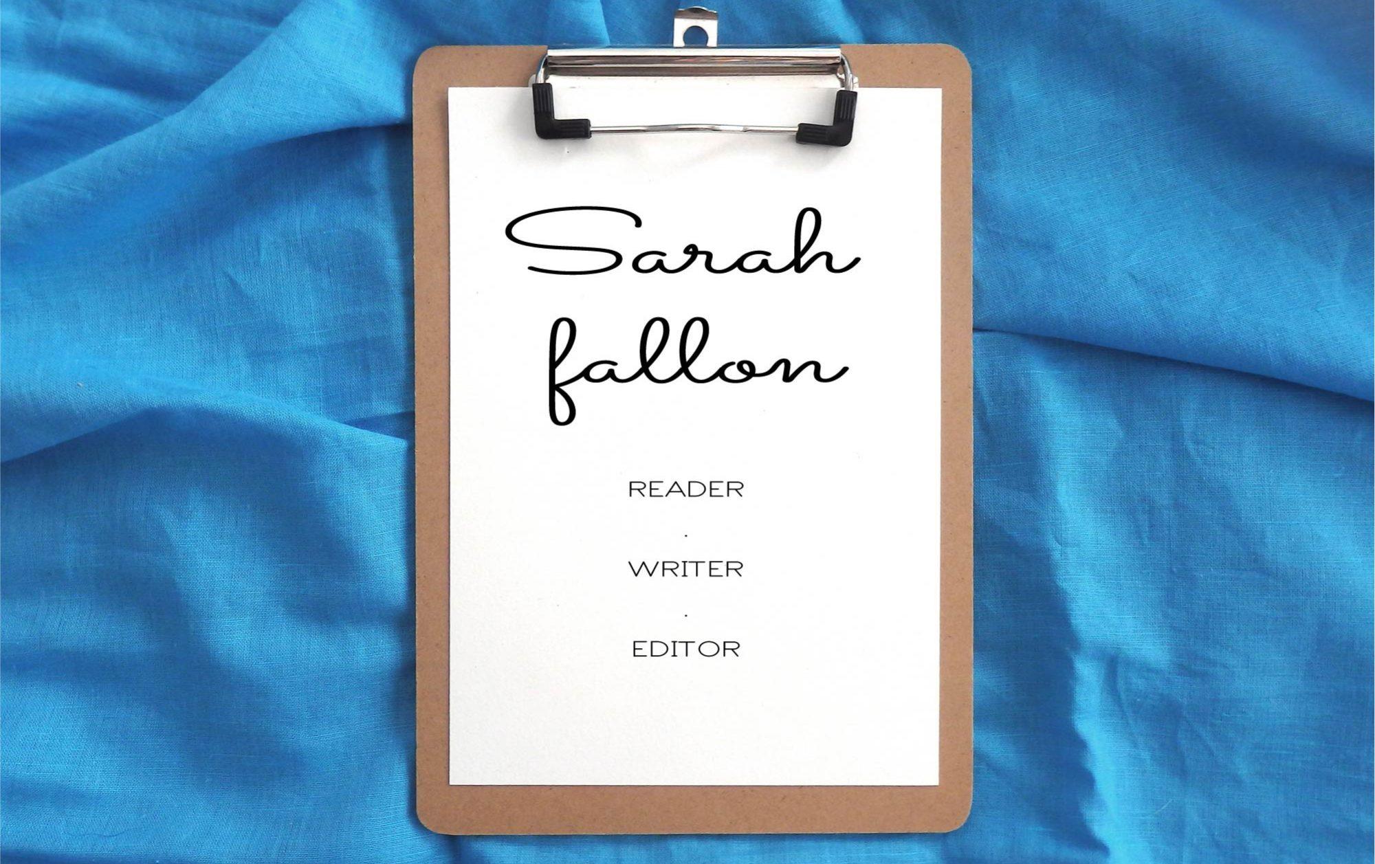 Sarah fallon