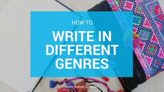 how to write in different genres
